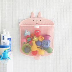 코니테일 욕실정리망 -래빗(욕실그물망장난감정리망)