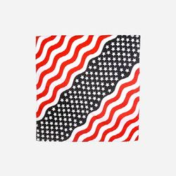22INCH TRAINMEN BANDANA (STARS & STRIPES)