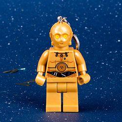 레고 스타워즈 LED 키체인 (C3PO)