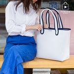 [GIFT] [PUBLICA] EVA Punching shopper bag(M)(PSPWpv01wh)