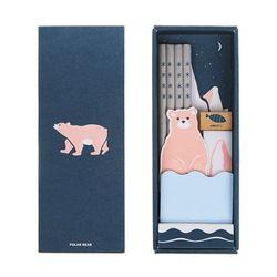 [문구세트] eco stationery set ver.8 - polar bear