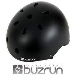 버즈런 스케이트보드 입문용 헬멧 익스트림MATT BLACK