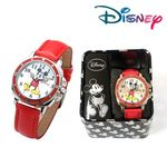 [Disney] 디즈니 미키 아동 가죽 손목시계 (MK1200)