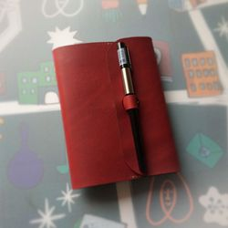 Note Cover. Buckle Pen A6 펜잠금노트[프렌치클라레]