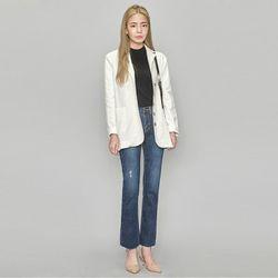 5 button linen jacket (3 colors)