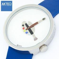 악테오 Paint02 48mm 남성 손목시계 스위스무브먼트