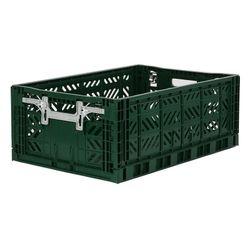 폴딩박스 L dark green_Active Lock 22cm (손잡이)