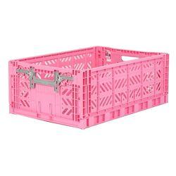 폴딩박스 L baby pink_Active Lock 22cm (손잡이)