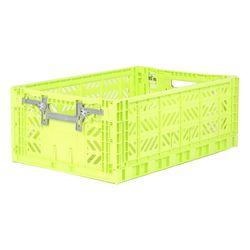 폴딩박스 L lime_Active Lock 22cm (손잡이)