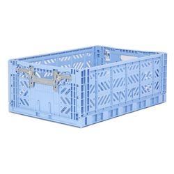 폴딩박스 L baby blue_Active Lock 22cm (손잡이)