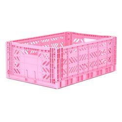 폴딩박스 L baby pink_Passive Lock 22cm
