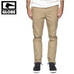 [GLOBE] GOODSTOCK CHINO SLIM FIT PANTS (STONE)