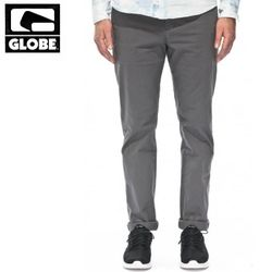 [GLOBE] GOODSTOCK CHINO SLIM FIT PANTS (GREY)