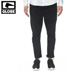 [GLOBE] GOODSTOCK CHINO SLIM FIT PANTS (BLACK)
