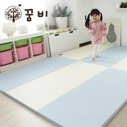 [꿈비 짱짱매트]모네 P200-인디블루 놀이방 아기매트