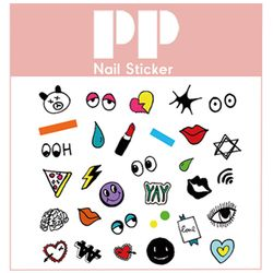 PP NAIL STICKER - YAY