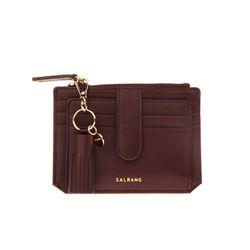 [태슬증정] Dijon 301S Flap mini Card Wallet burgundy
