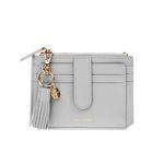 [태슬증정] Dijon 301S Flap mini Card Wallet light grey