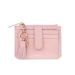[태슬증정] Dijon 301S Flap mini Card Wallet light pink