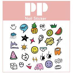 PP NAIL STICKER - MONSTER