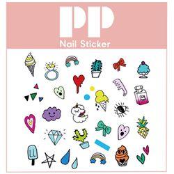 PP NAIL STICKER - ICECREAM