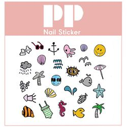 PP NAIL STICKER - SEA