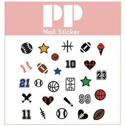 PP NAIL STICKER - BASEBALL