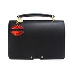 APRIL BLACK-SHOULDER BAG