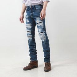 그린바나나 Destroyed Jeans