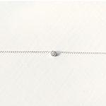 천연 러프 다이아몬드 Promise necklace (4월 탄생석)