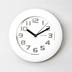 욕실 소프트 화이트 시계