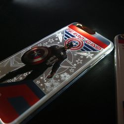 아이폰6 6s 시빌워 라이팅 케이스 - 팀 캡틴