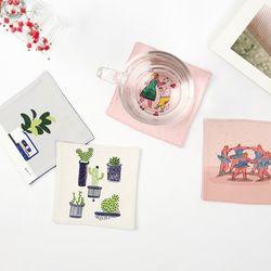 티코스터 컬렉션 (컵받침 A)
