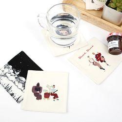 티코스터 컬렉션 (컵받침 B)