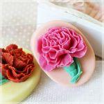 카네이션꽃비누 (핑크클레이호박)