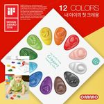 OMMO 옴모베이비크레용 2016 (12 Colors)