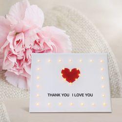 캔버스조명 DIY  KIT-THANK YOU LOVE YOU