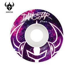 [DARKSTAR] MYSTIC PURPLEWHITE MS 99A WHEELS 51