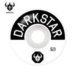 [DARKSTAR] TIMEWORKS BLACKWHITE MS 99A WHEELS 53