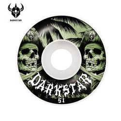 [DARKSTAR] HELM GREENWHITE MS 99A WHEELS 51