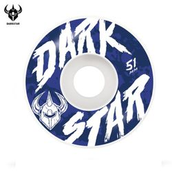 [DARKSTAR] CHALK WHITE MASTER URETHANE WHEELS 51