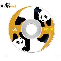 [ENJOI] PANDA STANDARD WHITEORG WHEELS 55