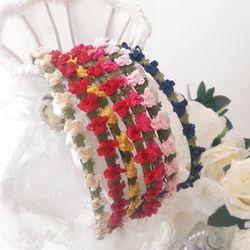 봄날의 꽃 헤어밴드(7colors)