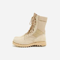 G.I. Type Ripple Sole Desert Tan Jungle Boot