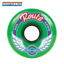 [KRYPTONICS]ROUTE GREEN 83A SOFT WHEELS 62MMX38MM