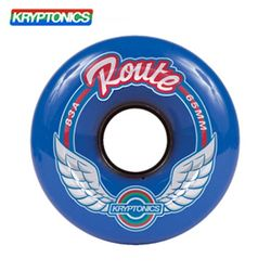 [KRYPTONICS]ROUTE BLUE 83A SOFT WHEELS 65MMX40MM