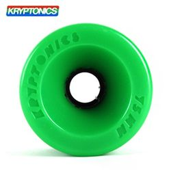 [KRYPTONICS] STAR TRAC GREEN 86A SOFT WHEELS 75X50
