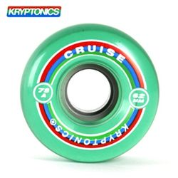 [KRYPTONICS] CRUISE GREEN 78A SOFT WHEELS 62X38