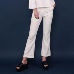 [MOHAN] SLIM FLARED PANTS WHITE