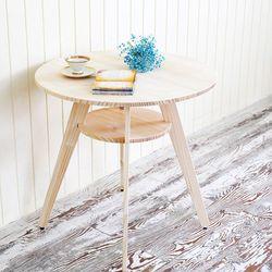 투썸 원형 테이블 DIY 원목가구
